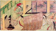 源氏物語絵巻 - Wikipedia