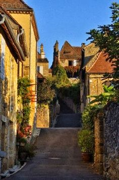 Village of Domme ~ Dordogne, France