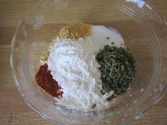 Blog with over 100 homemade seasoning and baking mixes