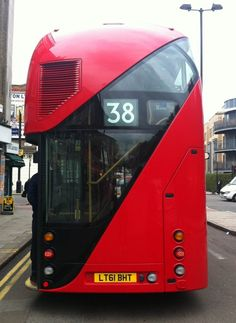New London double-decker bus. London Bus, New London, London Transport, Mode Of Transport, New Routemaster, Richard Branson, Thomas Heatherwick, Today In Pictures, London Brands