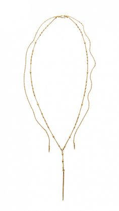 10 Pre-Layered Necklaces That Are Totally Covetable via @WhoWhatWear