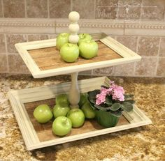 Everyone will be digging up old frames for this countertop organizer