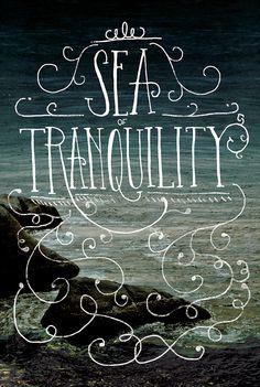 Sea of Tranquility by Shauna Lynn Panczyszyn, via Behance