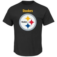 Pittsburgh Steelers Team Color Critical Victory T-Shirt from VFI