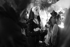 "ITAP of a ""nun"" at the carnival in Nice France http://ift.tt/2mjHsyk"