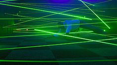 lazer mazes. this is a cool new real life maze that you hvae to act liek a  spy and jump and duck thrrough lasers. reminds me of mission impossible