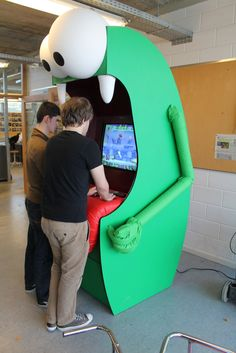 arcade game by Jelle Blockerye at Coroflot.com