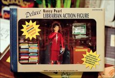 Deluxe Nancy Pearl Librarian Action Figure: I want it.
