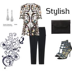 """""""Stylish"""" by kewnique on Polyvore"""