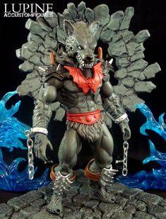 Lupine (MOTUC Original) (Masters of the Universe) Custom Action Figure