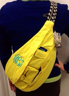 Monogrammed Kavu Rope Bags Great for teens by BlueSuedeStitches, $48.00