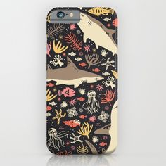 Oceanica iPhone & iPod Case by Anna Deegan | Society6