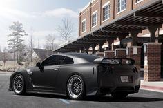 Matte black GTR