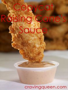 The perfect recipe for copycat Raising Canes sauce! It even tastes like the real thing!