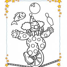kids carnival games coloring pages - photo#49