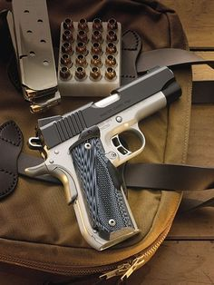 Kimber America | Master Carry .45 ACP Pistols.