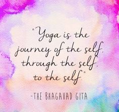A well known little Yoga Quote but one that always serves a good reminder! #yoga #yogaquotes #yogainspiration