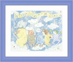 Wish Upon A Star Framed Lithograph