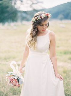 floral crown // photo by Heather Hester