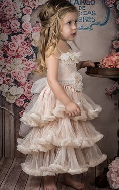 Sweet Flower Girls Dress.Count Her Blessings Dress