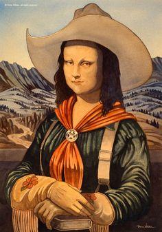 Montana Lisa [Dave Wilder] (Gioconda / Mona Lisa)