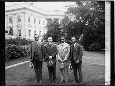 E.B. Dickenson, Coolidge, M.M. Harris and W.E. Stewart, Kappa Alpha Psi, June 16, 1926