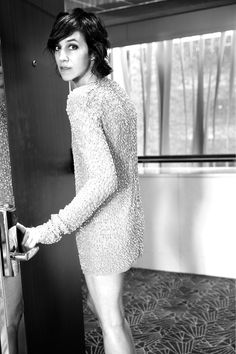 Charlotte Gainsbourg in Saint Laurent by Anthony Vaccarello
