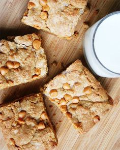 Salted Honey Nut Butterscotch Blondies