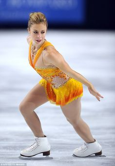 Ashley Wagner -- US Figure skater takes gold at the competition in France
