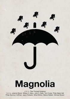 Magnolia [Paul Thomas Anderson, 2007] «Pictogram Movie Posters Author: Viktor Hertz»