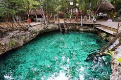 Zacil-Ha Cenote near Tulum - one of the stops on a one week Yucatan Road Trip Cancun Tours, Cancun Vacation, Mexico Vacation, Cancun Mexico, Vacation Places, Mexico Travel, Vacation Spots, Places To Travel, Cancun Attractions