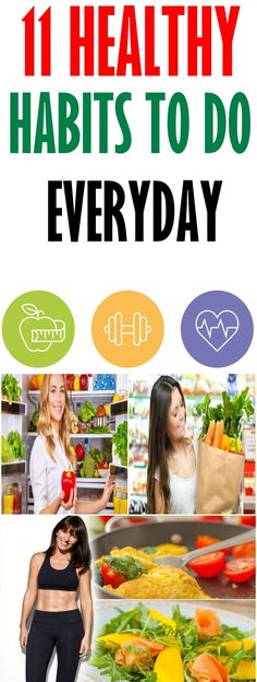 11 Healthy habits to do everyday