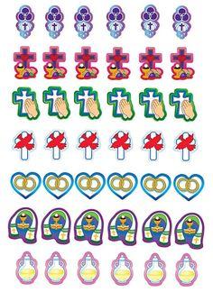 Juego los siete sacramentos. fichas símbolos La samaritana, juegos de nueva evangelizacion