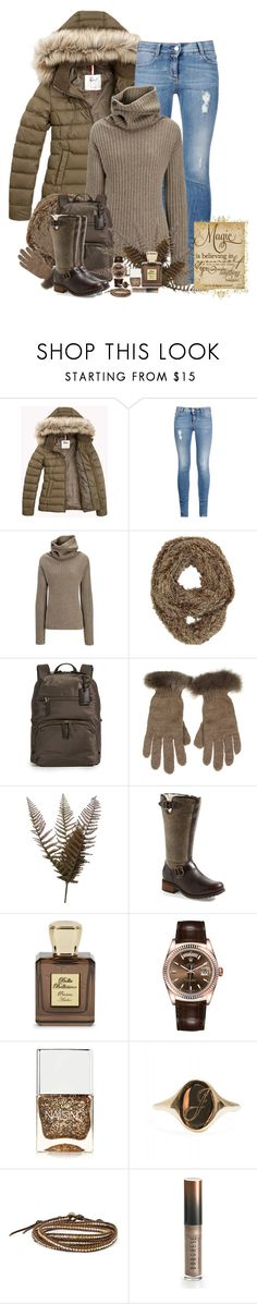 """Let it Snow"" by denisewood ❤ liked on Polyvore featuring STELLA McCARTNEY, Joseph, Tumi, Samantha Holmes, Abigail Ahern, UGG Australia, Bella Bellissima, Rolex, Nails Inc. and Chan Luu"