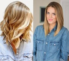 Na moda: Corte Long Bob ♥ Long Bob Haircut With Layers, Long Bob Haircuts, Midi Haircut, Back To School Haircuts, Color 2017, Medium Hair Styles, Short Hair Styles, Langer Bob, Corte Y Color