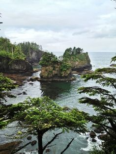 Cape Flattery, Olympic National Park, WA, looks like twilight lol Oh The Places You'll Go, Places To Travel, Places To Visit, Yasmine Galenorn, Voyager C'est Vivre, Columbia River Gorge, Parque Natural, Nature Landscape, Landscape Photos