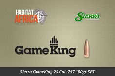The Sierra GameKing 25 Cal .257 100gr Spitzer Boat Tail bullet is suited to large varmints and small and medium game. It features excellent accuracy and dependable expansion at longer ranges in those game animals. The 100 grain GameKing can be used at all ranges but is best utilized when [...]