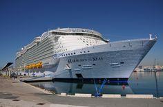 https://flic.kr/p/HwPDXq | HARMONY OF THE SEAS | Malaga, Spain 03/06/2016 Maiden Call - Inaugural Cruise