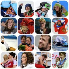The various emotions at Sochi 2014 Winter Olympics.
