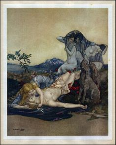 William Russell FLINT The Idyls of Bion & Moschus 1922