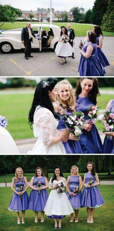 A Real 1950s Rockabilly Wedding in 2013 | Bride Bubble