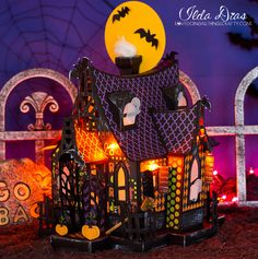 (I) (L)ove (D)oing (A)ll Things Crafty!: Halloween Bewitched Cabin