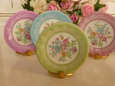 Love all 3 colors!  --SAOH--  Wendy Shabby Plate for Dollhouse