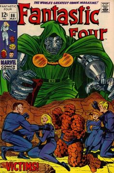 Fantastic Four # 86 (May 1969) - The Victims! ( Marvel Comics , 1969 ...