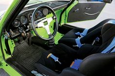 Excellence :: Foto Finish : Driving a 1974 RSR in the last Historics