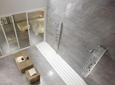 Bardiglio Italian tiles from La Faenza | Heritage Tiles #bathroom #bathroom_tiles #tiles #interior_design #design