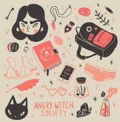 Teenage Witch Patterns on Behance