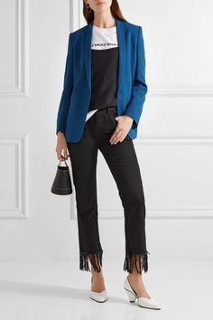 Stella McCartney - Mattea Stretch-cady Blazer - Cobalt blue - IT34