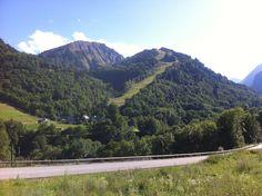 Jolie vue sur la montagne