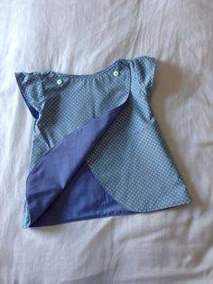 Reversible Schwin pattern tunic.